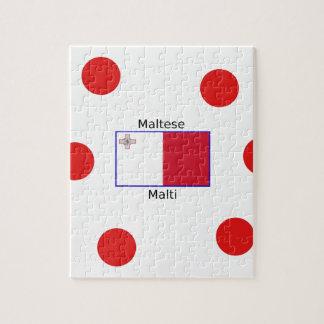 Puzzle Langue (de Malti) et conception maltaises de