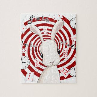 Puzzle Lapin blanc au pays des merveilles