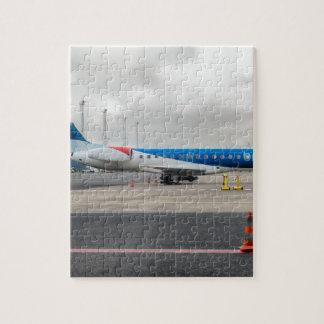 Puzzle L'avion à l'aéroport
