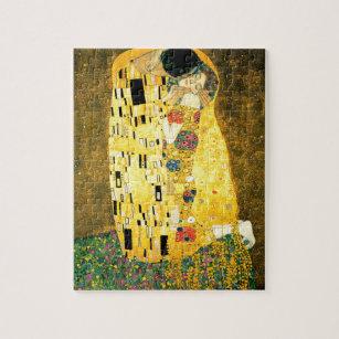 Puzzle Le baiser de Gustav Klimt Art nouveau