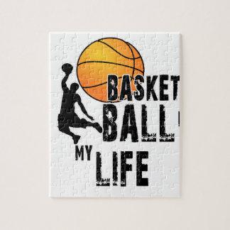 Puzzle Le basket-ball est ma vie