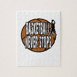 Puzzle Le basket-ball ne s'arrête jamais