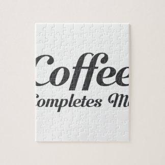 Puzzle Le café m'accomplit