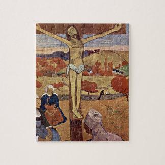 Puzzle Le Christ jaune par Paul Gauguin, beaux-arts