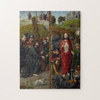 Puzzle Le Christ portant la croix