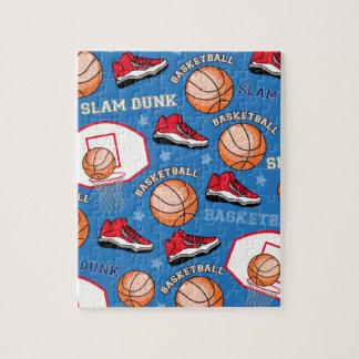Puzzle Le claquement de basket-ball de SPORTS trempent le