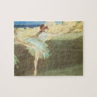 Puzzle Le danseur d'étoile sur le point par Edgar Degas