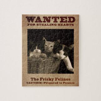 Puzzle Le Felines vif