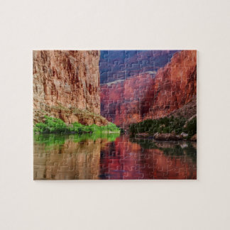 Puzzle Le fleuve Colorado en canyon grand, AZ