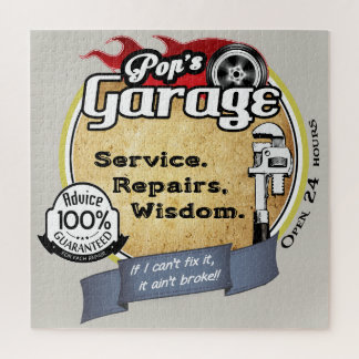 Puzzle Le garage du bruit
