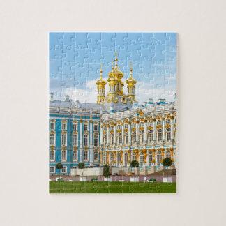Puzzle Le grand palais Tsarskoye Selo de Catherine