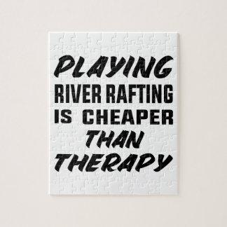 Puzzle Le jeu de transporter de rivière est meilleur