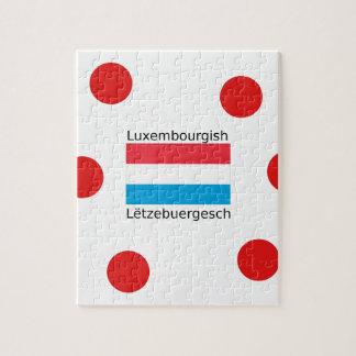 Puzzle Le Luxembourg diminuent et conception