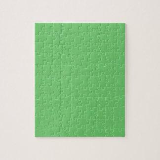 Puzzle Le modèle vert do-it-yourself de blanc de texture