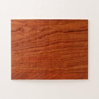 Puzzle Le modèle vide en bois do-it-yourself de noix