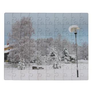 Puzzle Le pays des merveilles d'hiver
