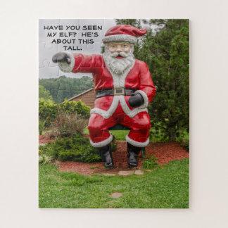 Puzzle Le père noël - Noël - vacances - humour