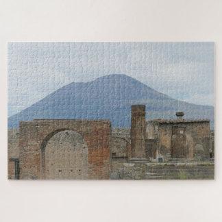 Puzzle Le Pompeii-Vésuve