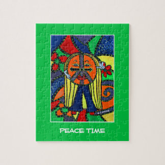Puzzle Le temps de paix rapièce des couleurs lumineuses