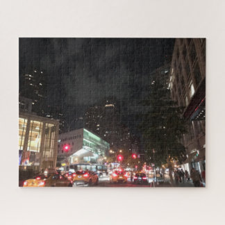 Puzzle Le trafic de nuit chez Lincoln Center New York