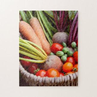 Puzzle Légumes moissonnés