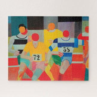Puzzle Les coureurs par Robert Delaunay