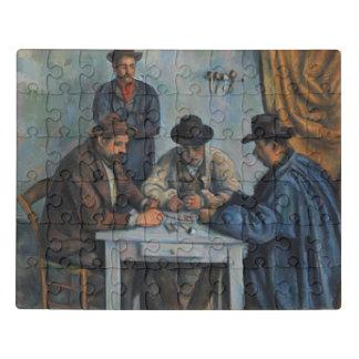 Puzzle Les joueurs de carte