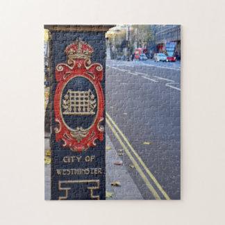 Puzzle Les rues de l'énigme de Westminster - de Londres