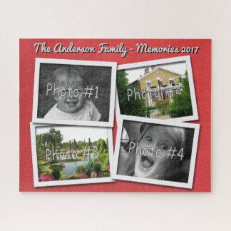 Puzzle Les souvenirs de famille 4 photos faites sur