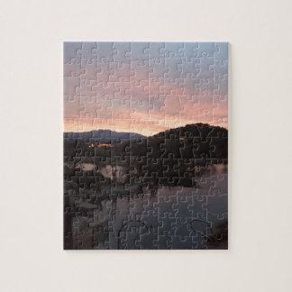 Puzzle Lever de soleil latéral de piscine