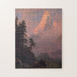Puzzle Lever de soleil sur le Matterhorn