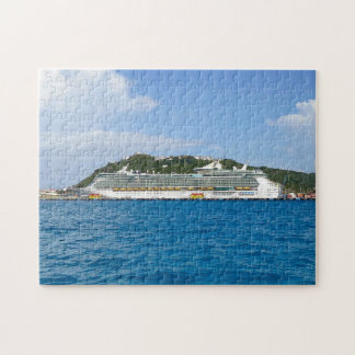 Puzzle Liberté chez Sint Maarten