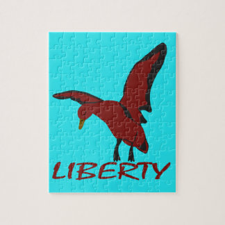Puzzle Liberté de canard