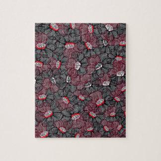 Puzzle ligne fleur