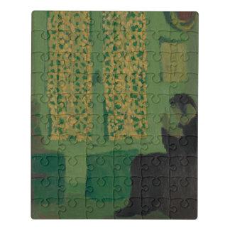 Puzzle L'intérieur vert
