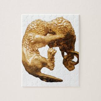 Puzzle Lion d'or