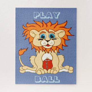 Puzzle Lion du football