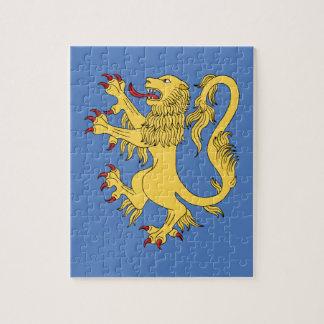 Puzzle Lion effréné