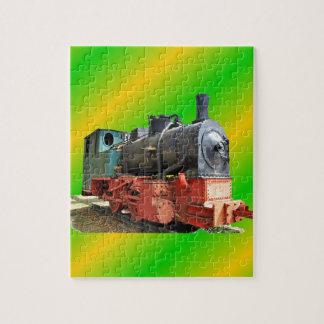 Puzzle Locomotive de vapeur