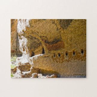 Puzzle Logement de falaise Nouveau Mexique.