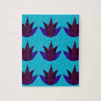 Puzzle Lotus bleus