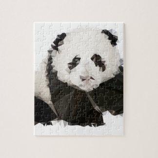 Puzzle Low Poly Panda