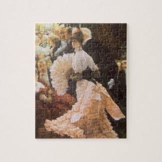 Puzzle Madame politique par James Tissot, cru victorien