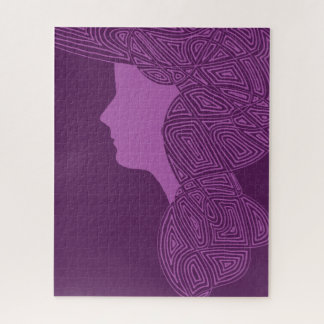 Puzzle Madame Purple