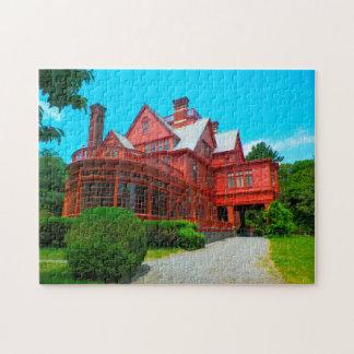Puzzle Maison de New Jersey de Thomas Edison.