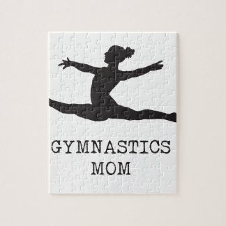 Puzzle Maman de gymnastique