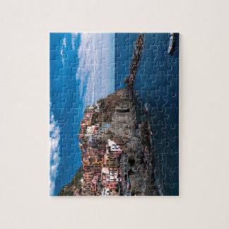 Puzzle Manarola, terre de cinque. L'Italie