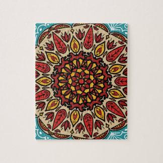 Puzzle Mandala de chute