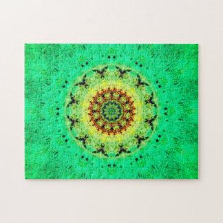 Puzzle Mandala paisible d'énergie