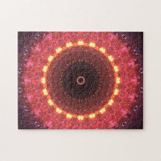 Puzzle Mandala portail chaud